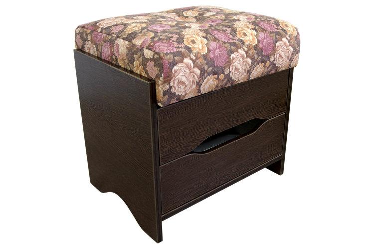 Кухонный пуф с ящиком для хранения